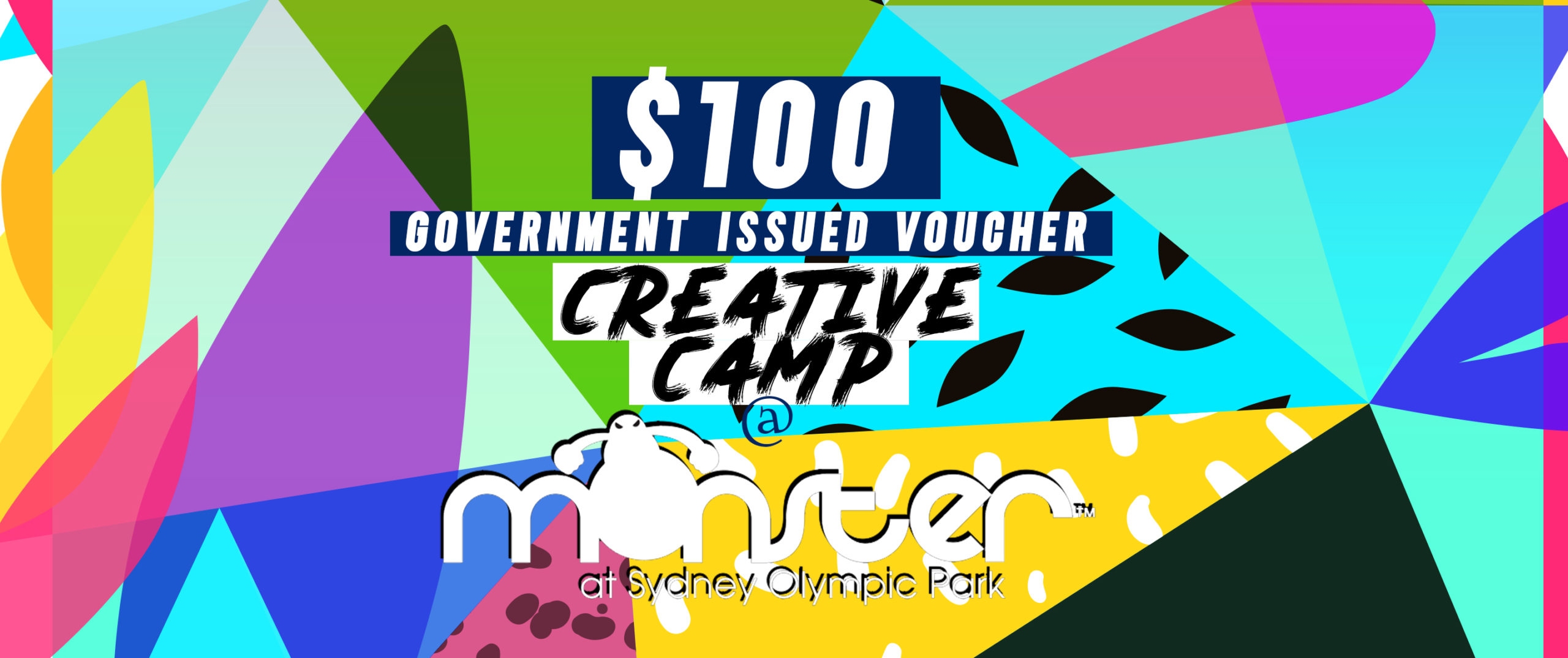 Creative Camps at Monster Skatepark